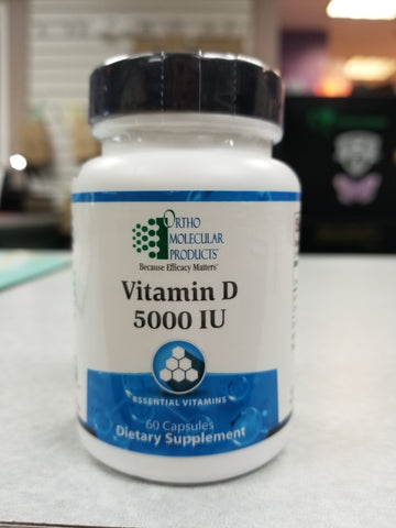Vitamin D 5000 IU #60 Caps