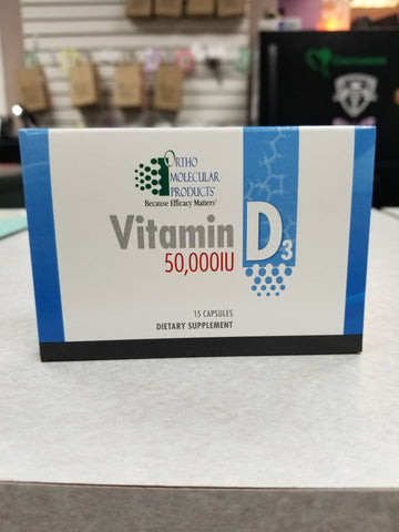 Vitamin D3 50,000IU #15 Caps per Pack - $7.00ea.