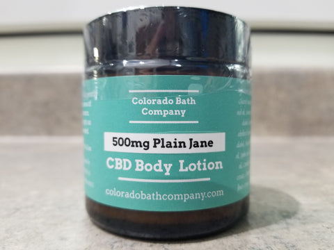 500mg CBD Body Lotion/Unscented 4.2oz