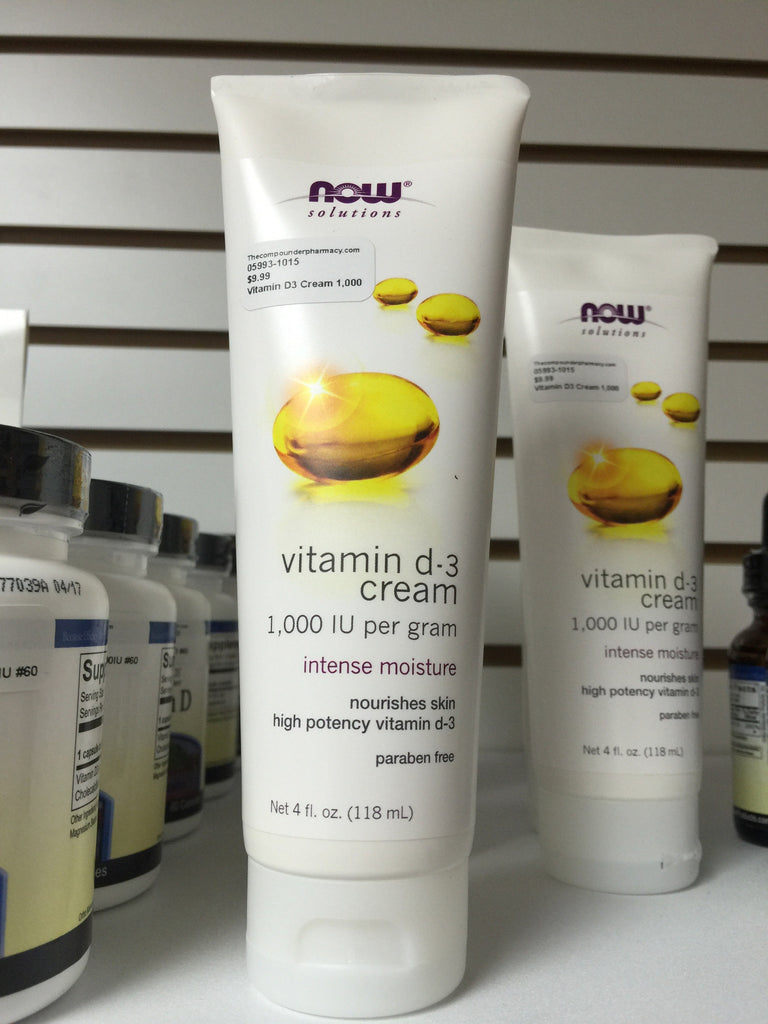 Vitamin D3 Cream 4oz