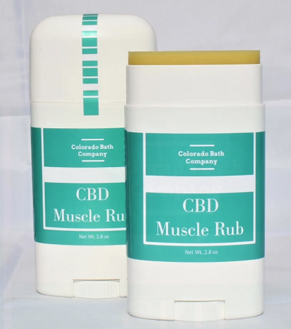 500mg CBD Muscle Rub/Lavender Mint 2.8oz Salve