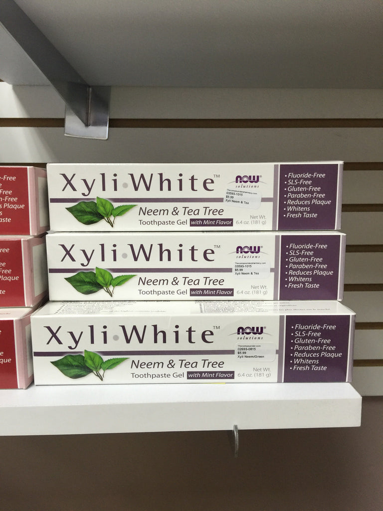 Xyliwhite™ Neem & Tea Tree Toothpaste Gel - 6.4 oz.