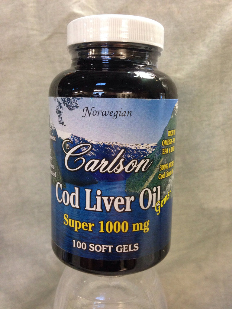 Cod Liver Oil Super 1000mg #100 Gels