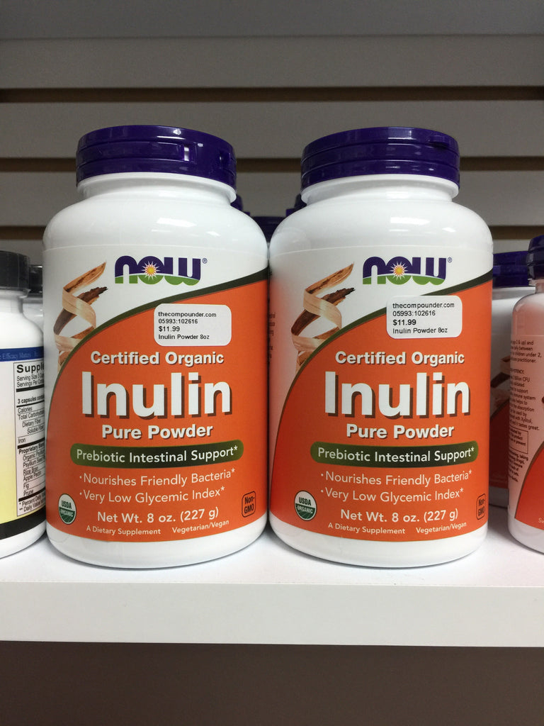 Inulin Prebiotic Fos Powder - 8oz