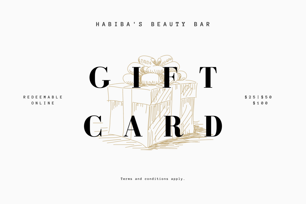 Habiba's Beauty Bar Gift Card