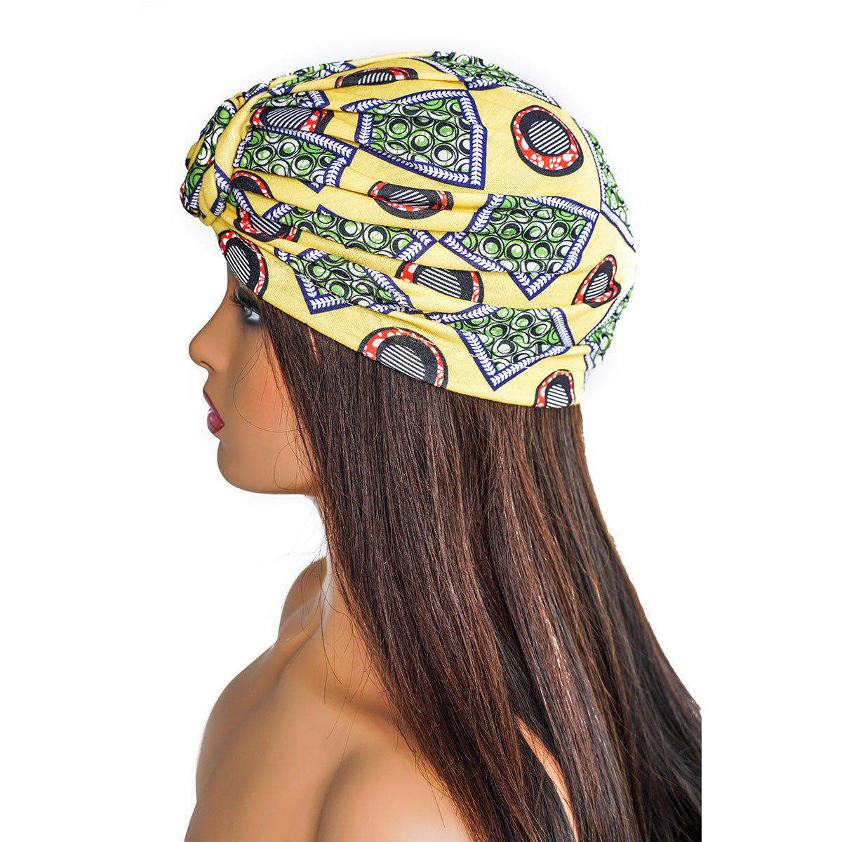 AFRICANA YELLOW KNOT | TURBAN