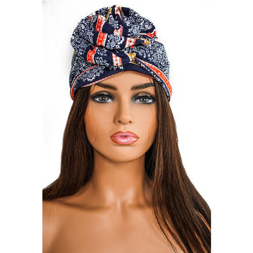 PANSY FLOWER | TURBAN