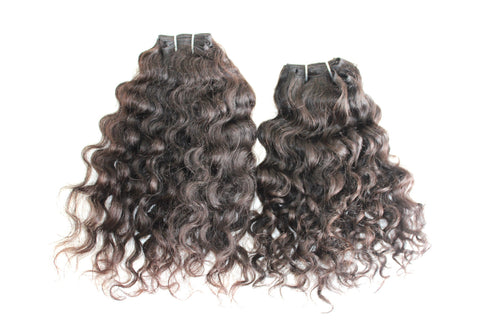 Curly Virgin Indian Hair Weft