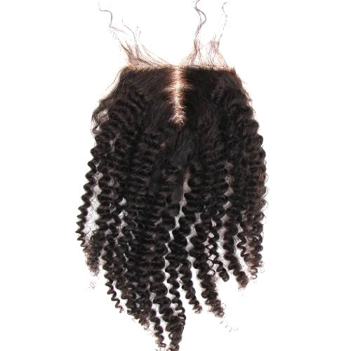 Kinky Curl Swiss Lace Closure