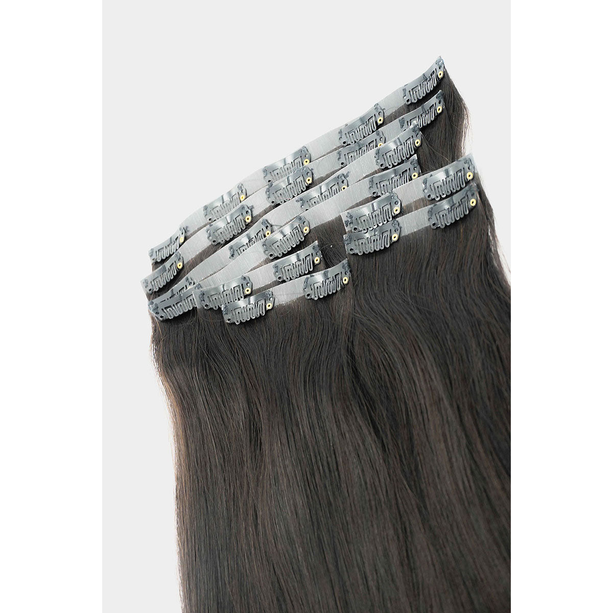 NATURAL BLACK BROWN (1B/2) | CLIP IN HAIR EXTENSION