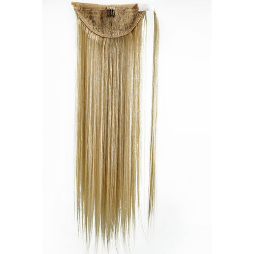 PLATINUM BLONDE (613) STRAIGHT | WRAP PONYTAIL HAIR EXTENSION