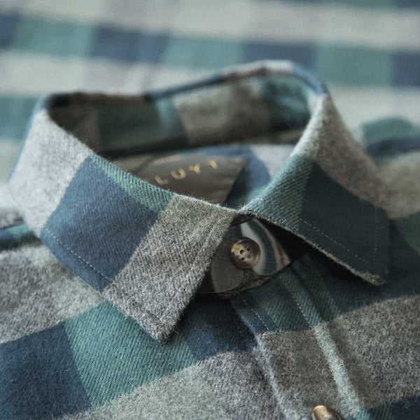 Copper Canyon Checked Flannel Shirt