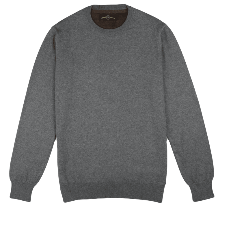 Crew Neck Grey Sweater