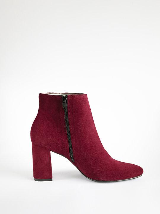 Suede Rockers Red