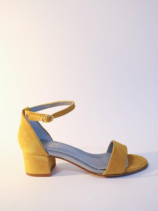 Suede Argentinas Yellow