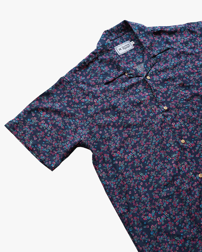 Floral Purple Shirt