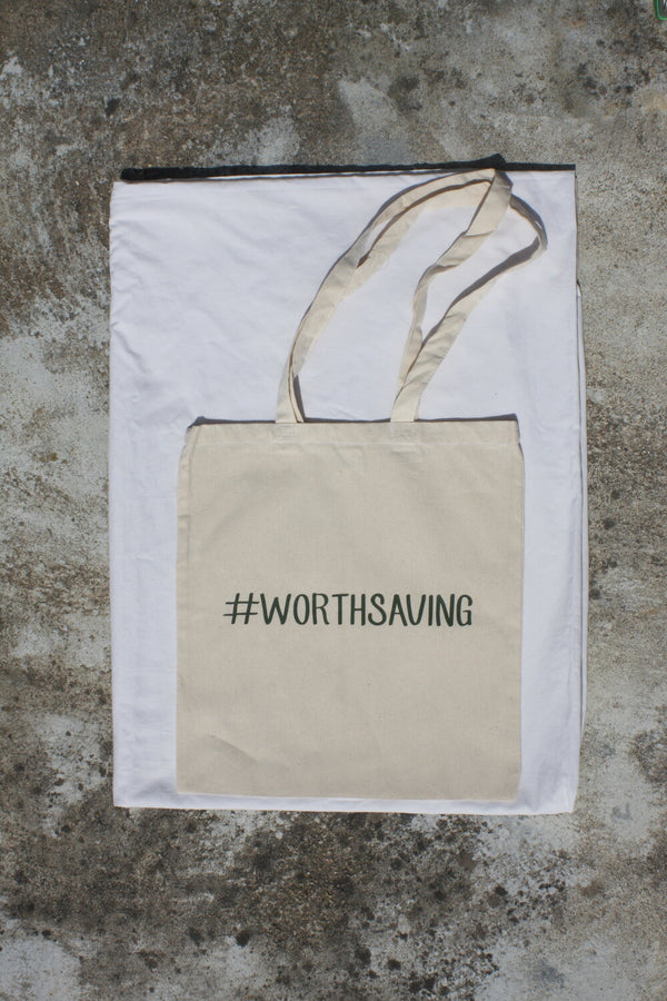 TOTE BAG #WORTHSAVING