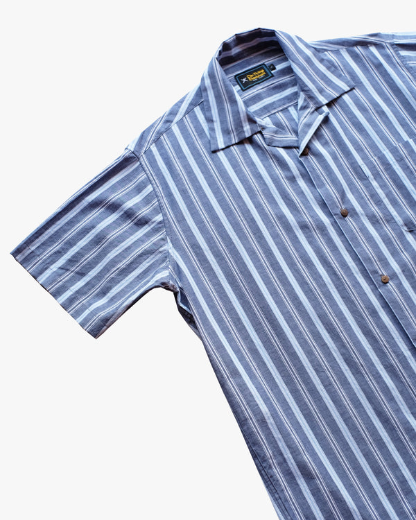 Striped Blue Shirt