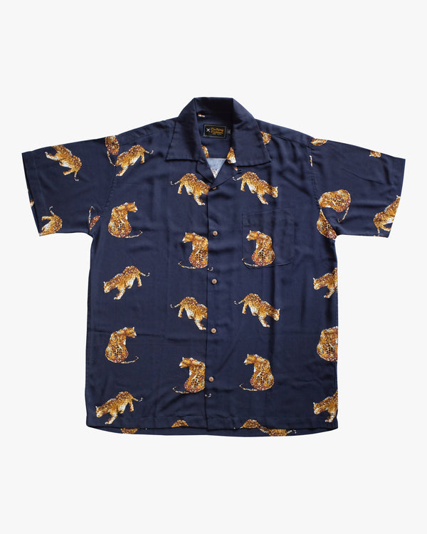 Tiger Blue Shirt
