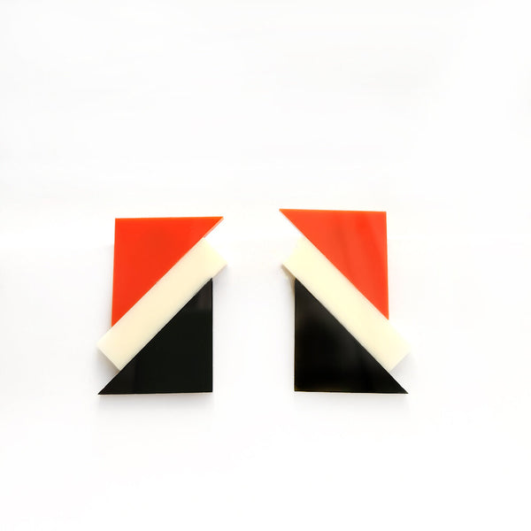 Katt Both Bauhaus Earrings Re-Edition