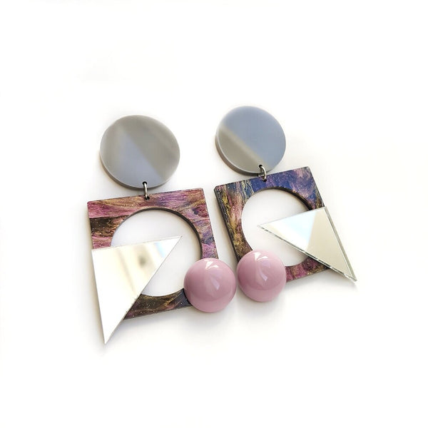 Lou Scheper Bauhaus Earrings Re-Edition