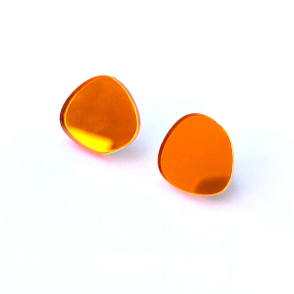 Yayoi Minimal Mirror Earrings