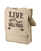 Live, Love, Bellyrub #01 Field Bag - Fuji and Friends Apparel Co. - 2