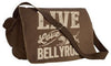 Live, Love, Bellyrub #01 Messenger Bag - Fuji and Friends Apparel Co. - 2