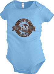 Live, Love, Bellyrub Tee #02 - Infant's - Fuji and Friends Apparel Co. - 1