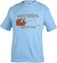 Gone Fishing Toddler's Tee - Fuji and Friends Apparel Co. - 1