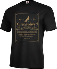 Ol' Shepherd Bourbon Tee - Fuji and Friends Apparel Co. - 1