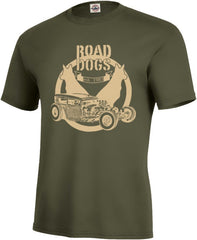 Road Dogs Hot Rod Tee - Men's - Fuji and Friends Apparel Co. - 1