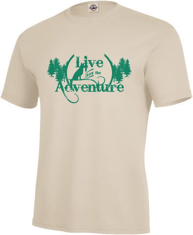 Live for the Adventure Unisex Tee
