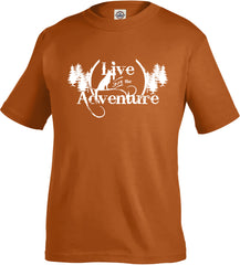 Live for the Adventure Toddler's Tee - Fuji and Friends Apparel Co. - 1