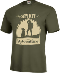 Spirit of Adventure Kid's Tee - Fuji and Friends Apparel Co.