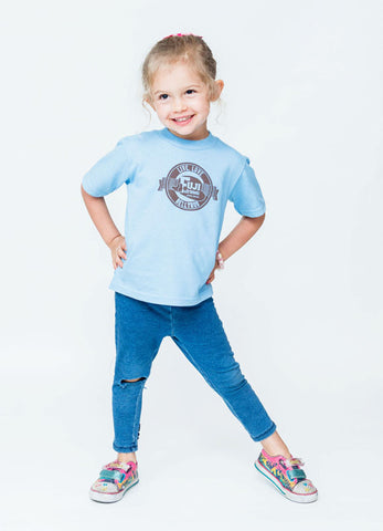 Live, Love, Bellyrub Tee #02 - Toddler's