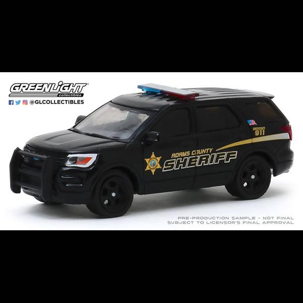 1/64 Hot Pursuit-2017 Ford Police Interceptor Utility-Adams County, Washington Sheriff's Office-amiami.jp-Amiami Online Head Office- - merchpunk