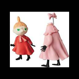"Figure UDF Little My and Garlic ""Moomin"" MOOMIN Series 6 ULTRA DETAIL FIGURE No.535"