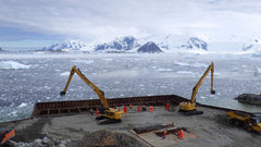 British Antarctic Survey's Rothera Site adds the fearsome MAX200 magdrill to their HMT fleet