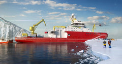 HMT Products Take Part in the Making of RRS Sir David Attenborough