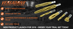 VERSADRIVE PRODUCT LAUNCH - JAN 2016