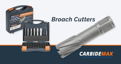 Increased magnet broach cutting performance with TCT