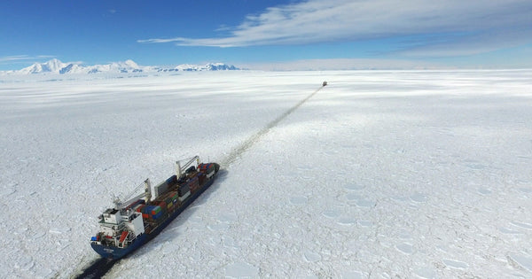 shipping cargo to antarctica