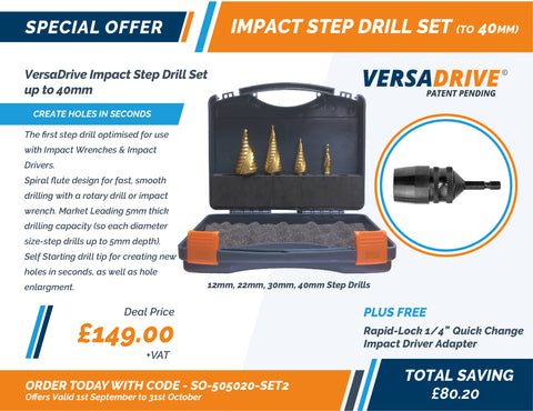 Step Drill set 2