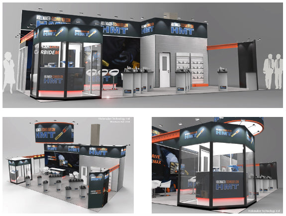 HMT exhibition stand