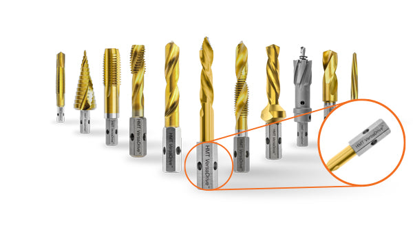The VersaDrive™ Patent Protected Shank System