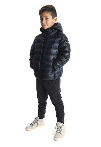 appaman ~ featherweight down puffer coat deep sea