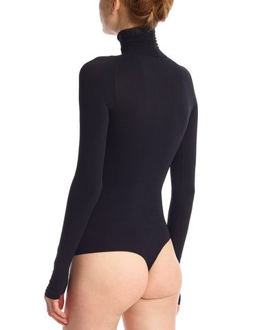 commando | ballet turtleneck bodysuit thong one size