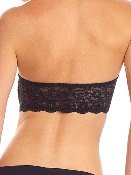 commando | bandeau bra black