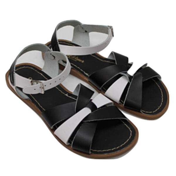salt water ~ original sandal for women b/w (swing exclusive)